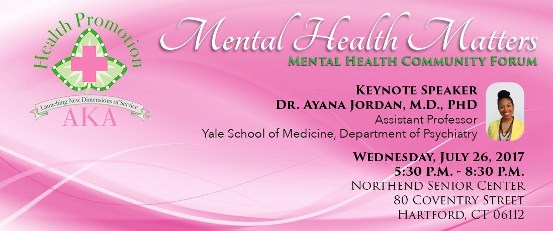 Mental Heath Community Forum